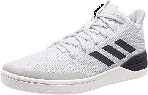adidas Herren B-Ball 80S Basketballschuhe, Weiß (Ftwwht/Cblack/Greone Ftwwht/Cblack/Greone), 46 EU
