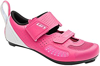 Louis Garneau, Women's Tri X-Speed IV Cycling Shoes, Pink Pop, 37