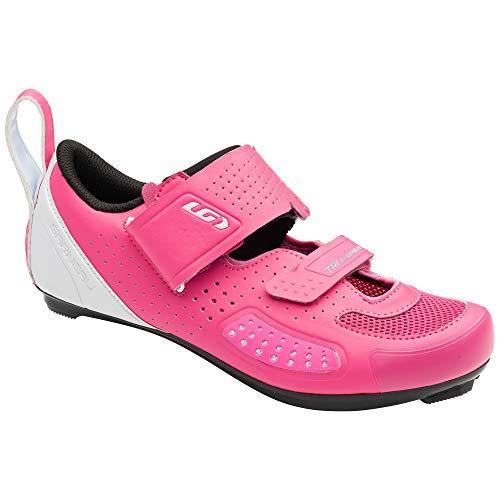 Louis Garneau, Women's Tri X-Speed IV Shoes, Pink Pop, 41