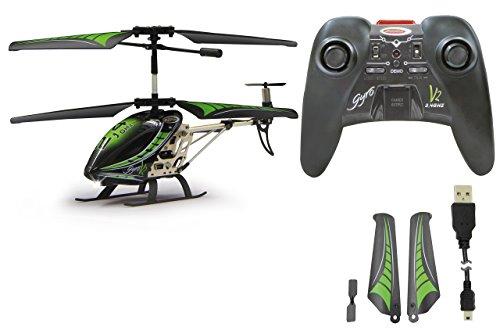 Jamara 038150 - elicottero gyro V2, 2.4Ghz, Verde/Nero