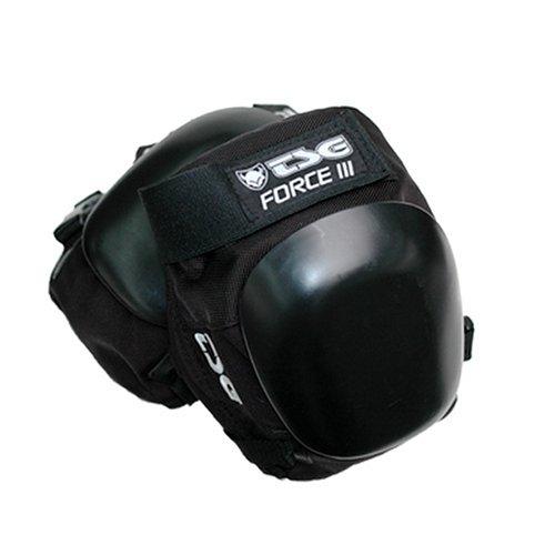 TSG Knieschoner Force III, black, L