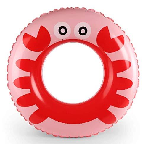 Niños dibujos animados anillo de natación niños pingüino nadar flotador verano piscina...
