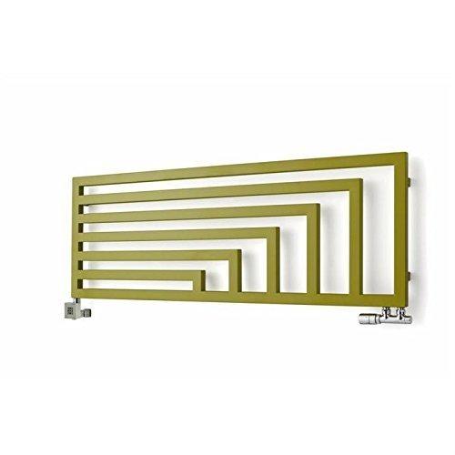 Terma Badheizkörper horizontal Angus, hochwertig, Designheizkörper, in verschiedenen Größen und Farben erhältlich (360h x 1140b)