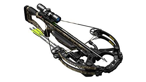 BARNETT Whitetail Hunter STR Crossbow, Mossy Oak Bottomland, Standard 4x32 Scope