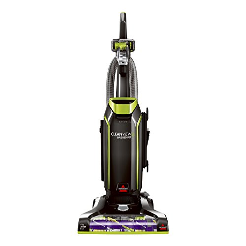 Bissell 20193 Cleanview Bagged Upright Vacuum Great for Homes with Pets with Premium allergen Filtration and Flexible pet Crevice Tool...