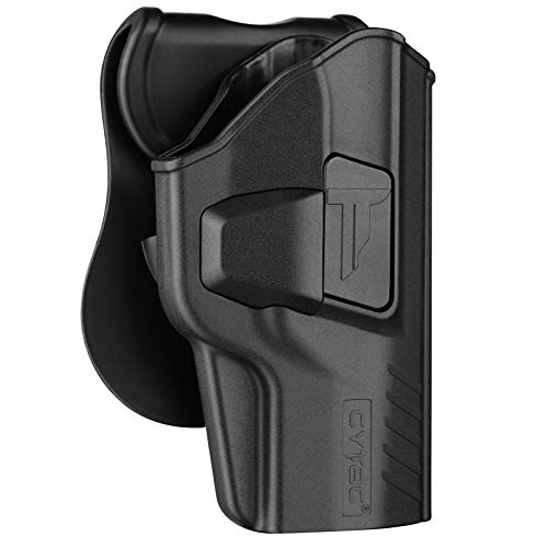 Beretta PX4 Storm Holster, Polymer OWB Paddle Holsters Fit Beretta PX4 Storm Full Size 9MM .40 S&W /.45 Auto 4'' Barrel, Outside The Waistband Carry Holster with 360° Adjustable Cant-Right Handed