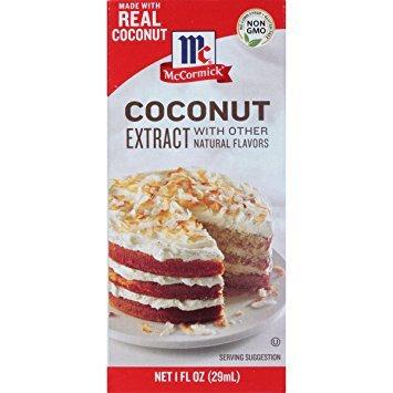 Mccormick Coconut Extract, 1 Ounce Pack of 2