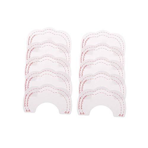 5 Paar Brusthebe-Pads Klebe-BH - unsichtbar - selbstklebend - Push-Up Cup A-D