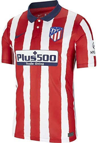 Nike 2020 2021 Atletico Madrid Home Football Soccer T Shirt Jersey product image