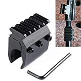 GOTICAL Universal 21mm Weaver Picatinny Rail Base Adapter Converter Barrel Scope Mount Heavy Duty Scope Mount New