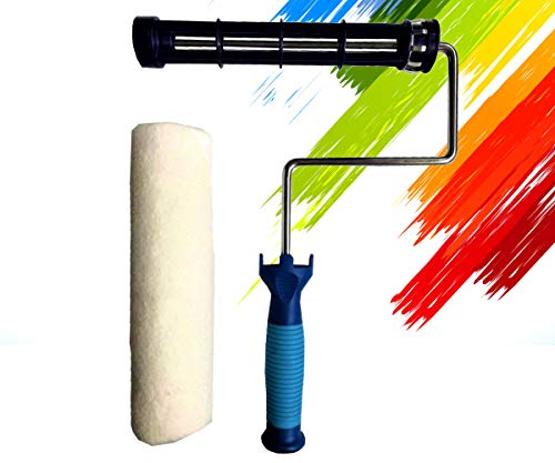 PANCLUB Paint Roller Frame and Roller Cover Set |...