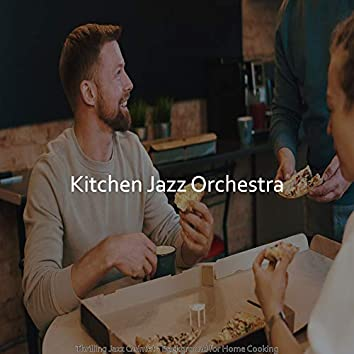 Thrilling Jazz Quintet - Background for Home Cooking