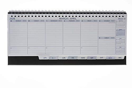 Collins Colplan Deskline Week to View 2020 Calendar