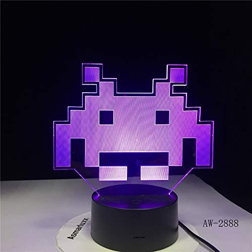 Schwein Nette 3D LED Lampe Tischlampe LED USB Sensor Nachtlicht Skulptur Mode dekorative Lampe als Schlafzimmer Schlaf Dekoration 9 Regler