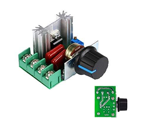 Shoppy Lab - Regulador de potencia del motor, regulador de velocidad, ventilador,...