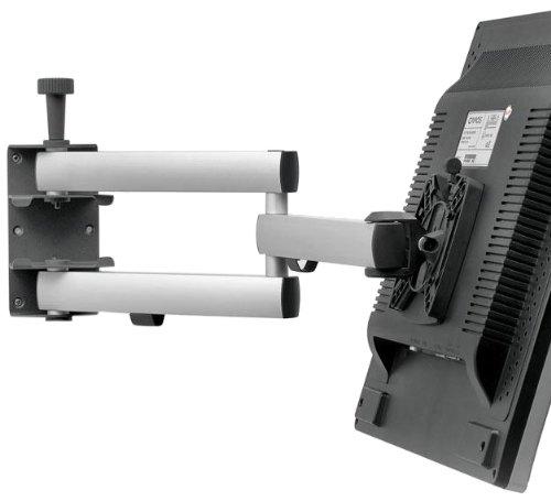 Novus Dahle TV-houder, metaal, zilver, 10,0 x 77,75 x 23,5 cm