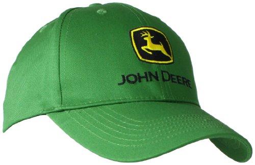 JOHN DEERE NCAA Herren-Baseballkappe mit Markenlogo - Grün - Einheitsgröße