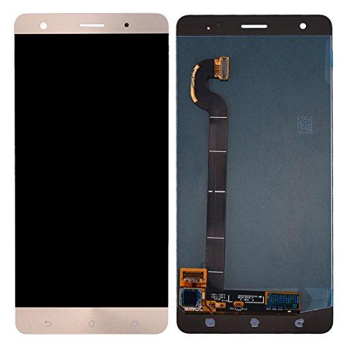 Pantalla LCD del teléfono móvil Pantalla LCD y ensamblaje Completo del digitalizador para ASUS ZenFone 3 Deluxe / ZS570KL / Z016D (Oro) Pantalla LCD (Color : Gold)