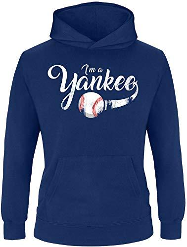 EZYshirt® I`am a Yankee Baseball Shirt Pullover Kinderen   Jongens Hoodie   Hoodie