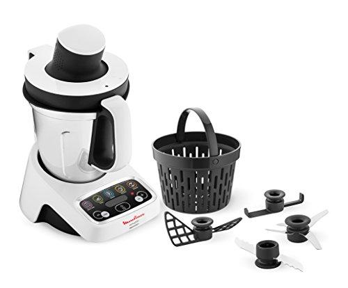 Moulinex YY2978FG Robot Cuiseur Volupta, multifonctions et compact, 3L