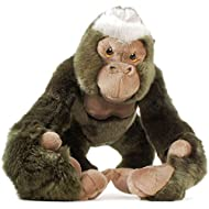 VIAHART Geraldo The Gorilla | 14 Inch (with Hanging Arms Outstretched) Stuffed Animal Plush Monkey | by Tiger Tale Toys