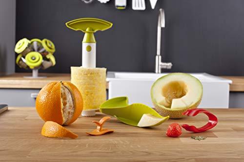 Tomorrow's Kitchen 48892606 Lot de 4 Découpe en Plastique Multicolore 30 x 14,6 x 30,7 cm