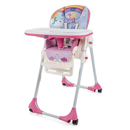 Chicco Polly Easy Seggiolone, Unicorn