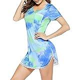 YANFANG Camisa De Dormir Sexy para Mujer,Mini Vestido Simplicidad CóModa Moda...