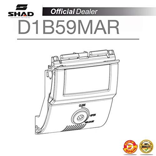 Shad D1B59MAR SHAD-D1B59MAR/214 : Recambio Conjunto bombin Llave Cierre Tirador Apertura baul o Maleta SH58X/SH59X, Other