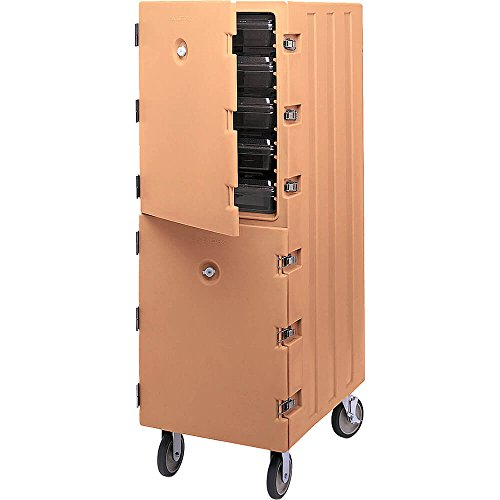 Learn More About Cambro Double Compartment Food Cart for 18x26 Boxes Coffee Beige 1826DBC-157