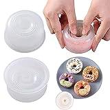 AGAN Ronda Onigiri Formulario de plástico Antiadherente Fácil Fabricante de Bola de arroz Presione el Molde de bebé Cocina Accesorios G2AA