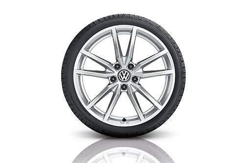 VW WKR Pretoria 7,5x18 5/112/51Alu-Komplettrad Gar. 225/40 R18 92V XL, Continent - 5G007328B8Z8S