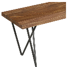 """dylan 36"""" small wooden bench + Reviews 