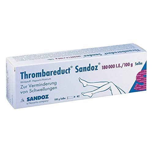 THROMBAREDUCT Sandoz 180.000 I.E. Salbe 100 g