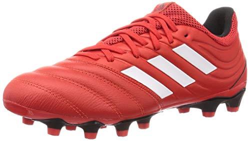 adidas Copa 20.3 MG, Scarpe da Calcio Uomo, Rosso Attivo Bianco Ftwr Nero Core, 42 EU
