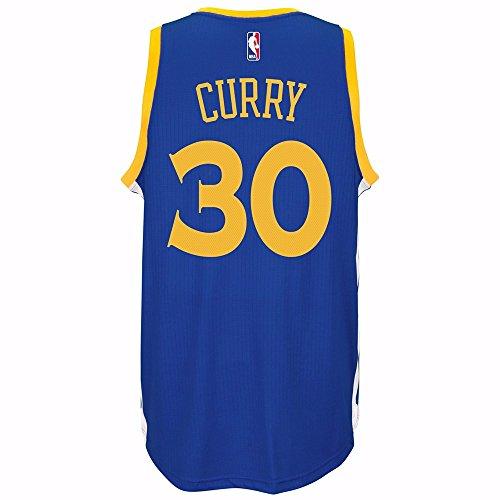 Adidas Canotta da basket NBA swingman di Stephen Curry dei Golden state Warriors – blu, M