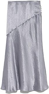 [フレイ アイディー] サイドボタンナローサテンスカート FWFS195039 レディース