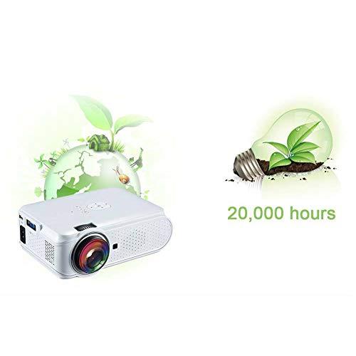 XIANG Mini-Projektor-Bewegliches Heimkino Für 1080P LED-Projektor 2900 Lumen HD in 3D Video Film-Spielen