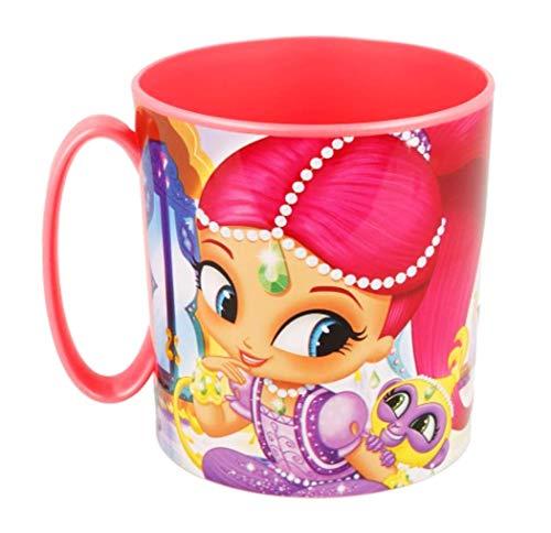 Theonoi kunststof beker/mok 350 ml naar keuze: Minnie Princess Frozen Paw Patrol Ladybug Pony Sofia/beker van kunststof BPA-vrij geschikt voor de magnetron/meisjes cadeau