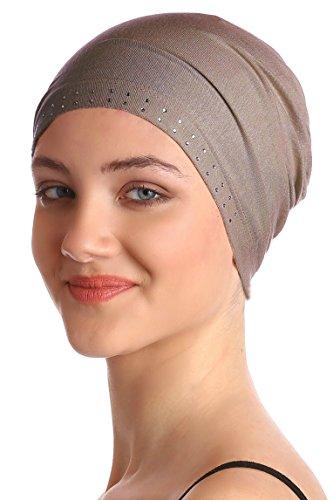 Deresina Headwear Tapa Delantera Enjoyada (Visón)