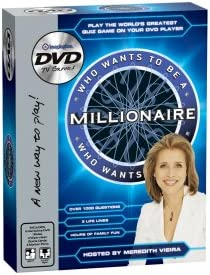 Who Wants To Save money Be Fixed price for sale a Game Millionaire DVD