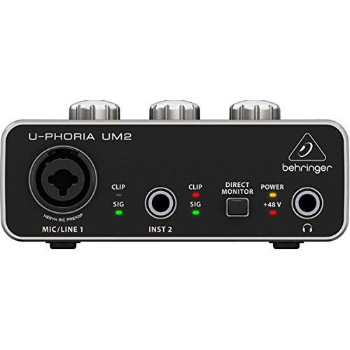 BEHRINGER Audio Interface 1x XLR/TRS 1x 1/4