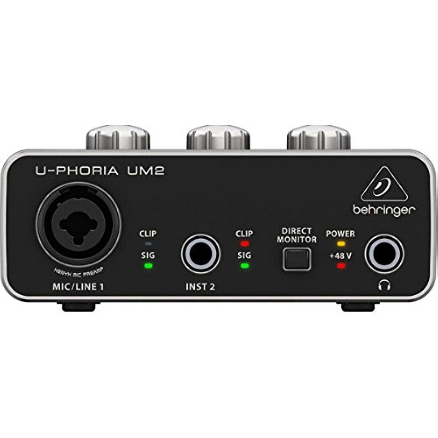 サポートスカイ左ベリンガー UM2 2x2 USBオーディオインターフェース