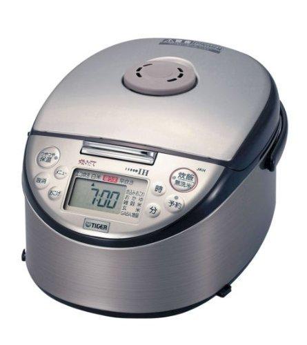 タイガー IH炊飯器 「炊きたて」 5.5合 ブラウン JKH-U100-T