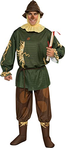Rubie's Wizard Of Oz 75th Anniversary Edition Adult Scarecrow, Multicolor, One Size Costume