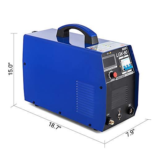 Mophorn 60AMP Plasmaschneider-Schweißgerät 380V Plasmaschneider-Schweißgerät (60AMP) - 5