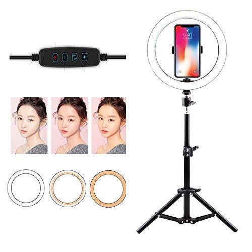 Fotografie Selfie Invullicht, Selfie Ring Light, LED Ring Light, voor Photography Ring Light met statief en standaard,50CM