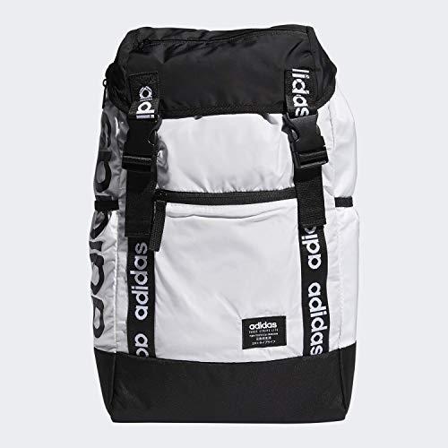 adidas Mochila unisex Midvale, Unisex, Mochila, 976546, blanco y negro, Talla única