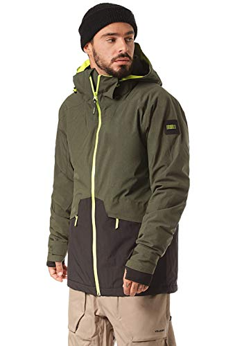 O'Neill Herren PM Quartzite Jackets Snow, Forest Night, S
