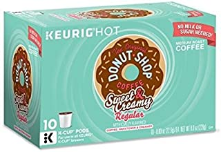 The Original Donut Shop Coffee, Sweet and Creamy Regular (1 Box)